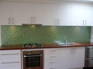 Kitchen Tiles Glass Splashback glass tiles for kitchen splashback. textured glass kitchen